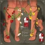 Rose Vines Legs