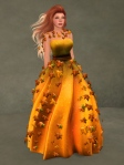 Autumn Leaves Gown PUMPKIN02