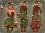 Christmas Elf Outfit GREENMB