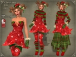 Christmas Elf Outfit REDMB