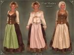 Fair Maiden OutfitBROWN