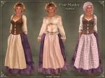 Fair Maiden OutfitPURPLE