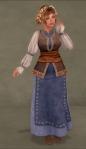 Merchant Gown BLUE03