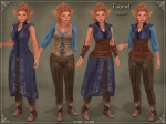 Tauriel Outfit BLUE