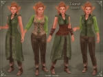 Tauriel Outfit GREEN