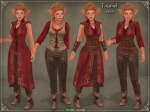 Tauriel Outfit RED