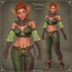 Verisa Battle Elf GREEN