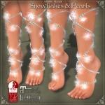 Snowflakes and PearlsLEGS