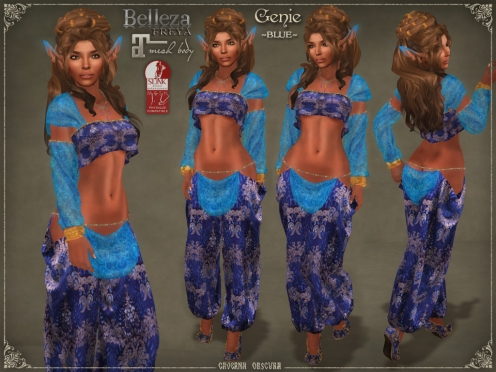 Genie Outfit BLUE